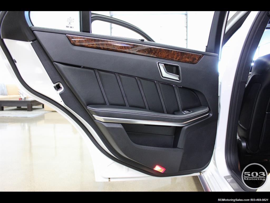 2014 Mercedes-Benz E 63 AMG S-Model Wagon; White/Black w/ 19k Miles! - Photo 45 - Beaverton, OR 97005