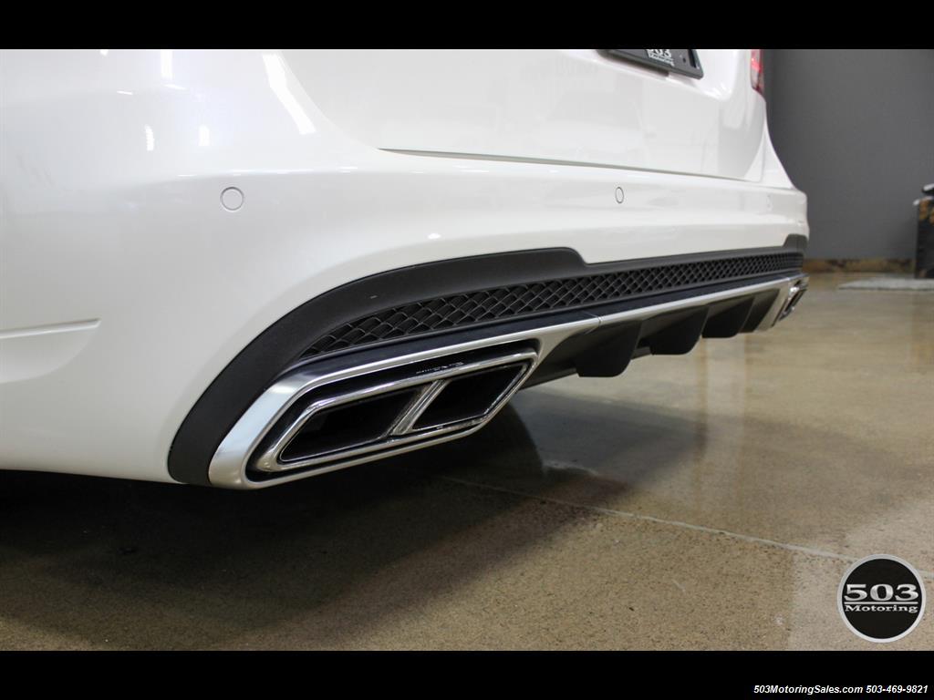 2014 Mercedes-Benz E 63 AMG S-Model Wagon; White/Black w/ 19k Miles! - Photo 11 - Beaverton, OR 97005