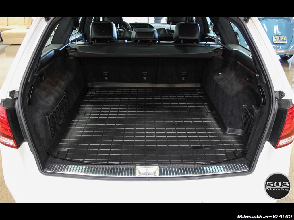 2014 Mercedes-Benz E 63 AMG S-Model Wagon; White/Black w/ 19k Miles! - Photo 49 - Beaverton, OR 97005