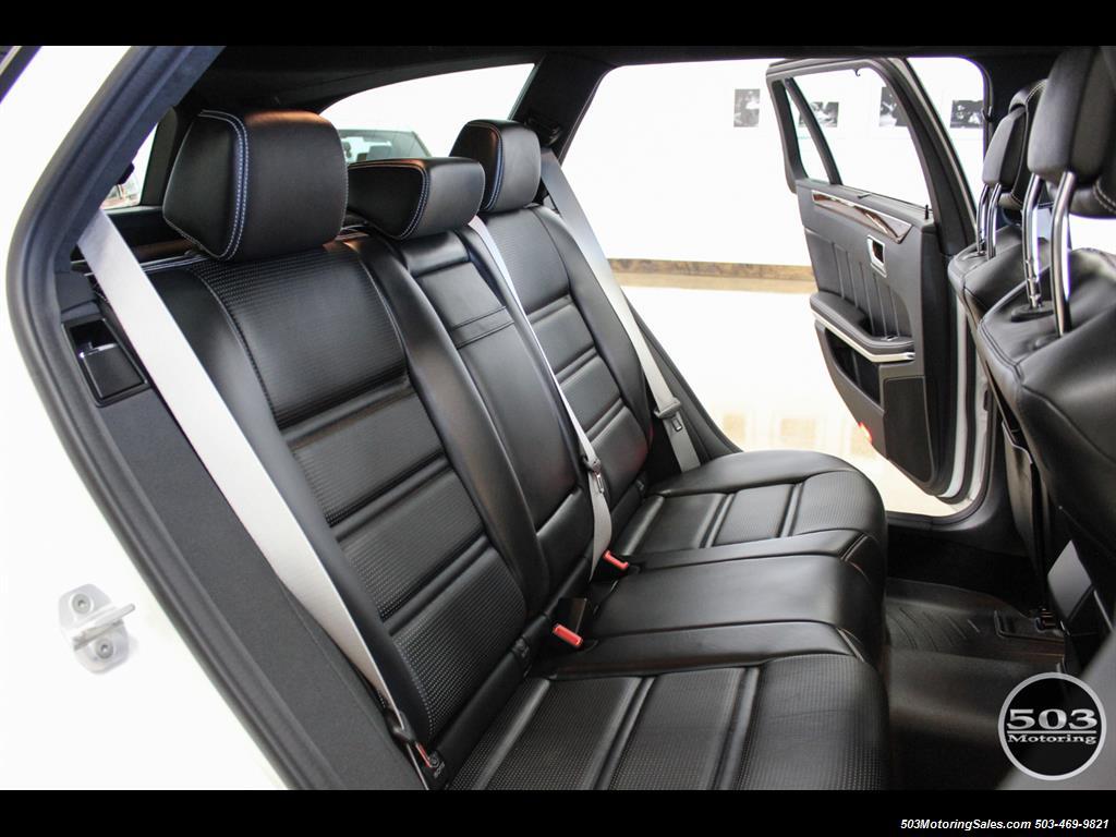 2014 Mercedes-Benz E 63 AMG S-Model Wagon; White/Black w/ 19k Miles! - Photo 47 - Beaverton, OR 97005