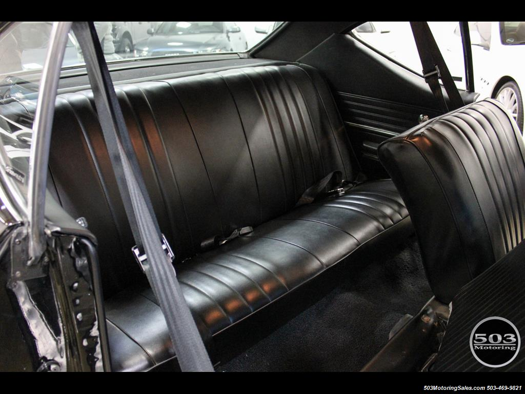 1968 Chevrolet Chevelle SS 396; Black/Black Stunning Restomod! - Photo 47 - Beaverton, OR 97005
