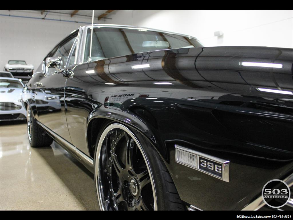1968 Chevrolet Chevelle SS 396; Black/Black Stunning Restomod! - Photo 15 - Beaverton, OR 97005