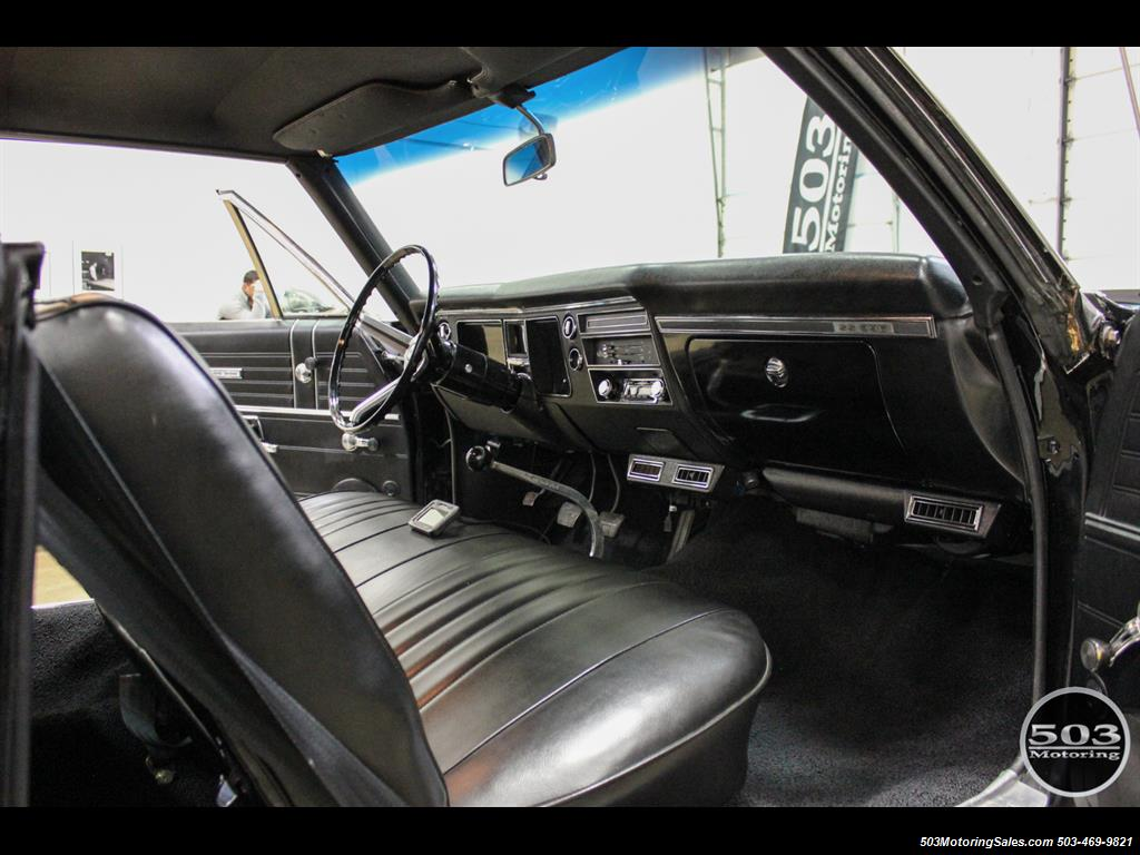 1968 Chevrolet Chevelle SS 396; Black/Black Stunning Restomod! - Photo 41 - Beaverton, OR 97005