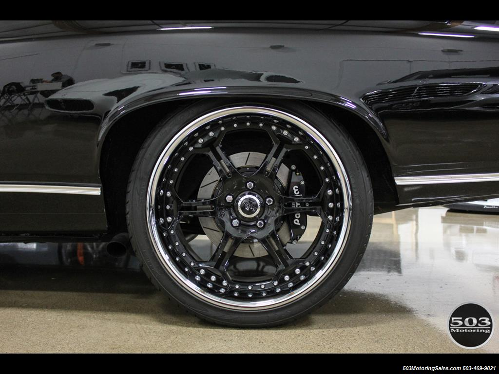 1968 Chevrolet Chevelle SS 396; Black/Black Stunning Restomod! - Photo 25 - Beaverton, OR 97005