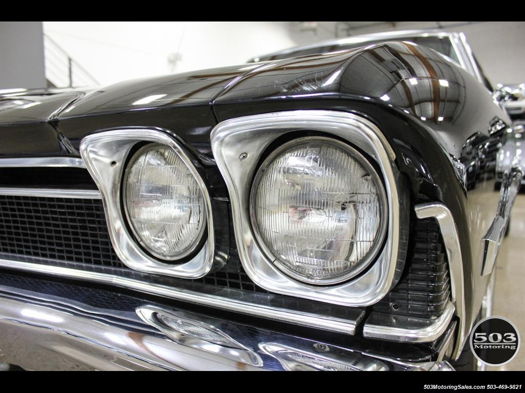1968 Chevrolet Chevelle SS 396; Black/Black Stunning Restomod! - Photo 12 - Beaverton, OR 97005