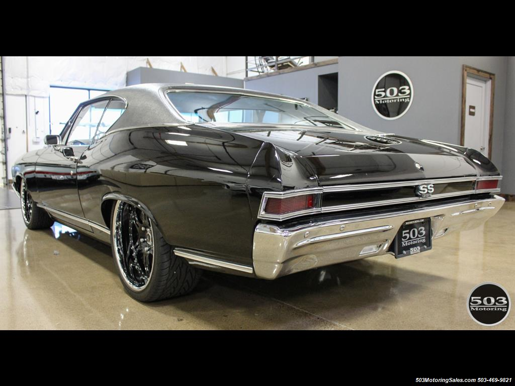 1968 Chevrolet Chevelle SS 396; Black/Black Stunning Restomod! - Photo 3 - Beaverton, OR 97005
