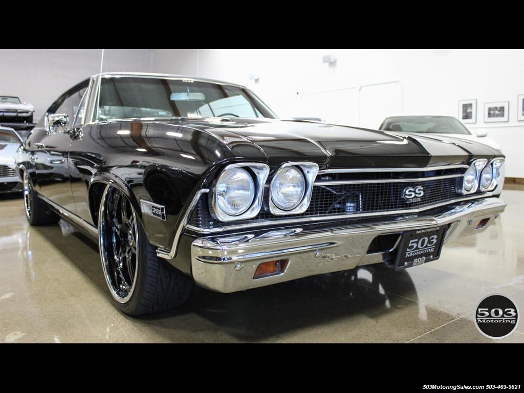 1968 Chevrolet Chevelle SS 396; Black/Black Stunning Restomod! - Photo 7 - Beaverton, OR 97005