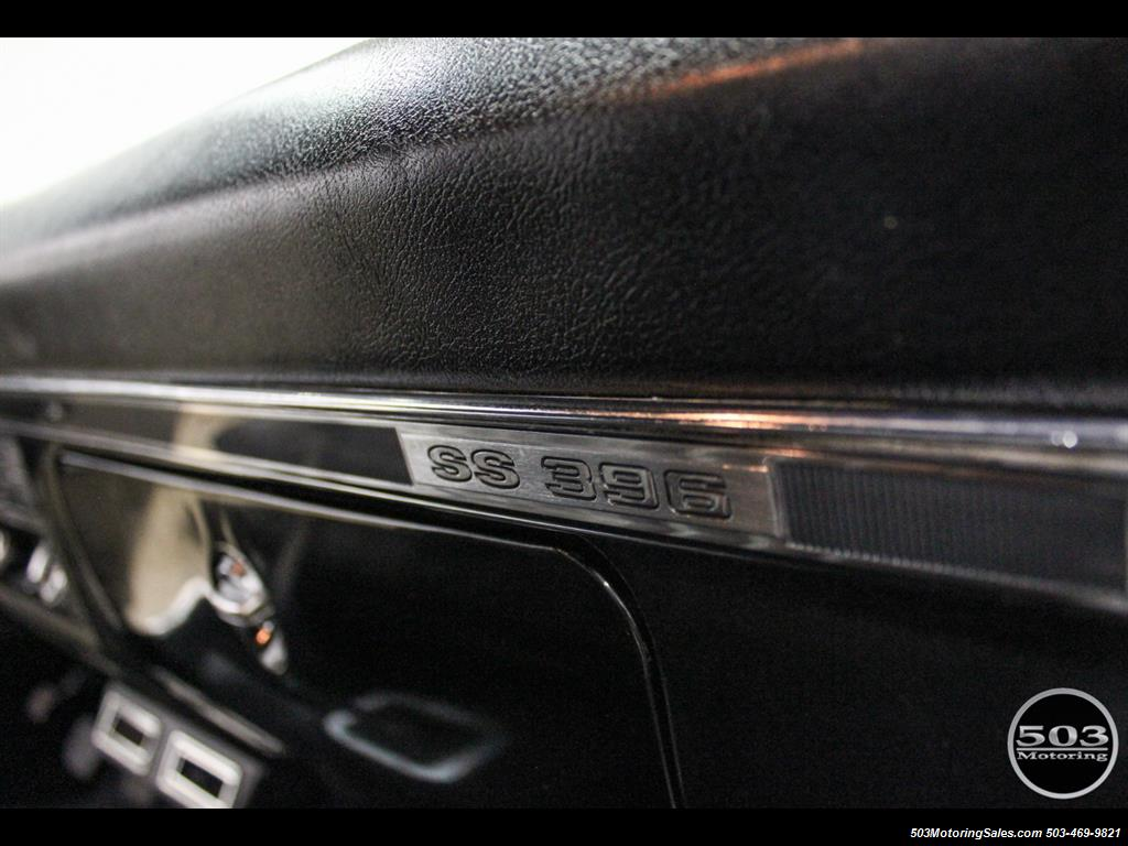 1968 Chevrolet Chevelle SS 396; Black/Black Stunning Restomod! - Photo 43 - Beaverton, OR 97005