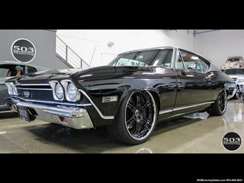 1968 Chevrolet Chevelle SS 396; Black/Black Stunning Restomod! Coupe