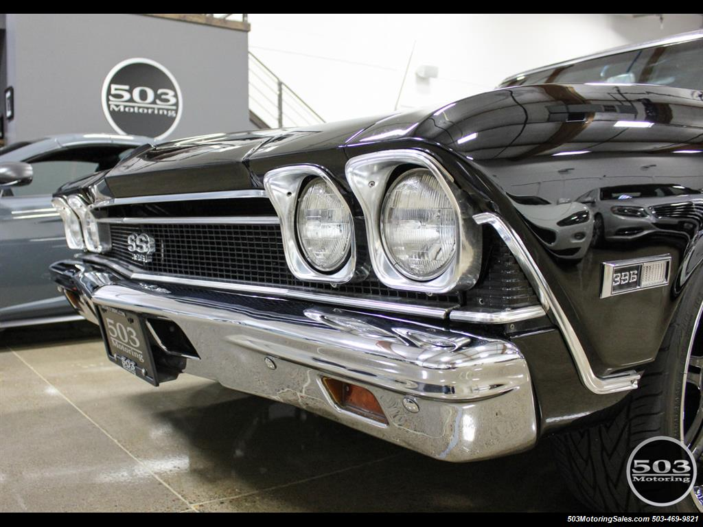 1968 Chevrolet Chevelle SS 396; Black/Black Stunning Restomod! - Photo 9 - Beaverton, OR 97005