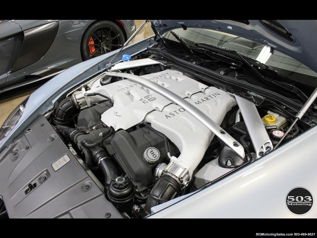 2011 Aston Martin V12 Vantage 6-Speed Manual, Mako Blue/Black! - Photo 52 - Beaverton, OR 97005