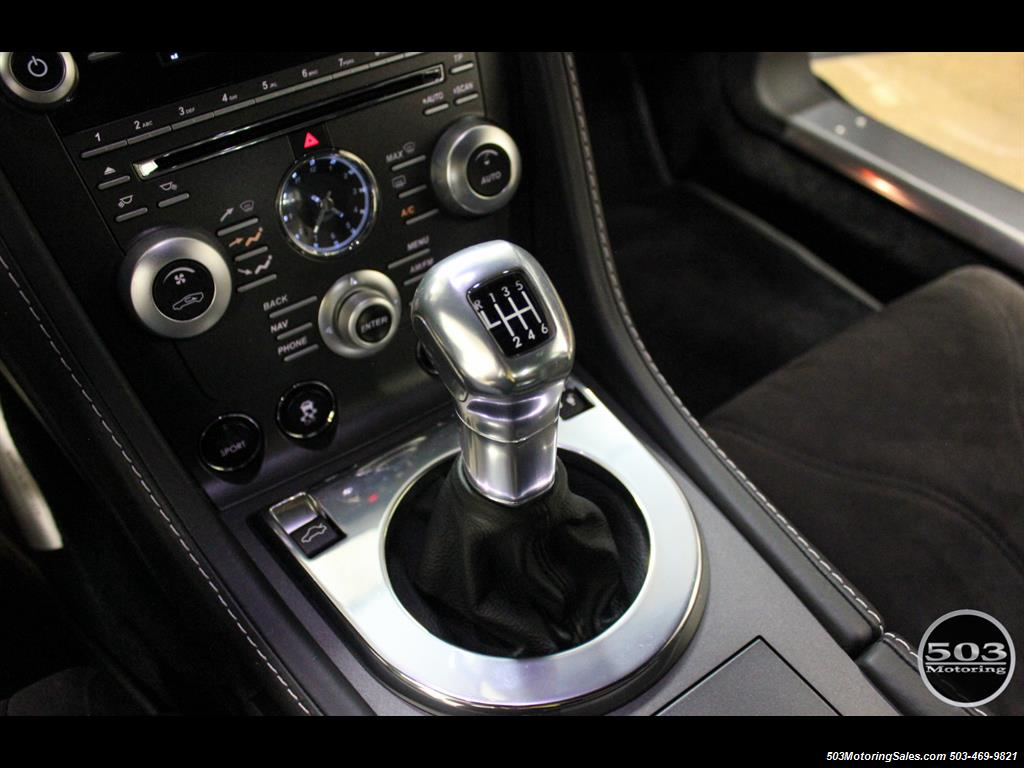 2011 Aston Martin V12 Vantage 6-Speed Manual, Mako Blue/Black! - Photo 38 - Beaverton, OR 97005