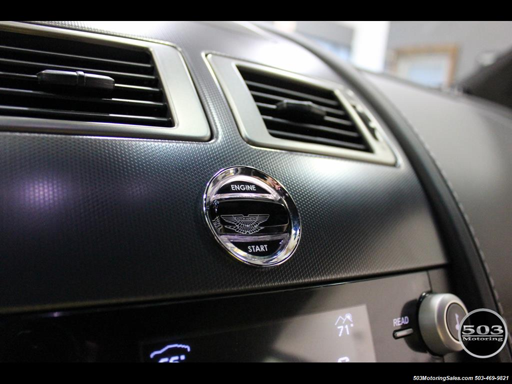2011 Aston Martin V12 Vantage 6-Speed Manual, Mako Blue/Black! - Photo 36 - Beaverton, OR 97005