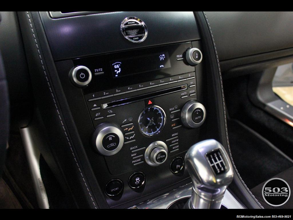 2011 Aston Martin V12 Vantage 6-Speed Manual, Mako Blue/Black! - Photo 37 - Beaverton, OR 97005
