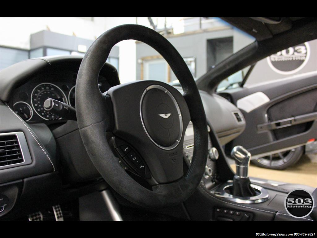 2011 Aston Martin V12 Vantage 6-Speed Manual, Mako Blue/Black! - Photo 30 - Beaverton, OR 97005