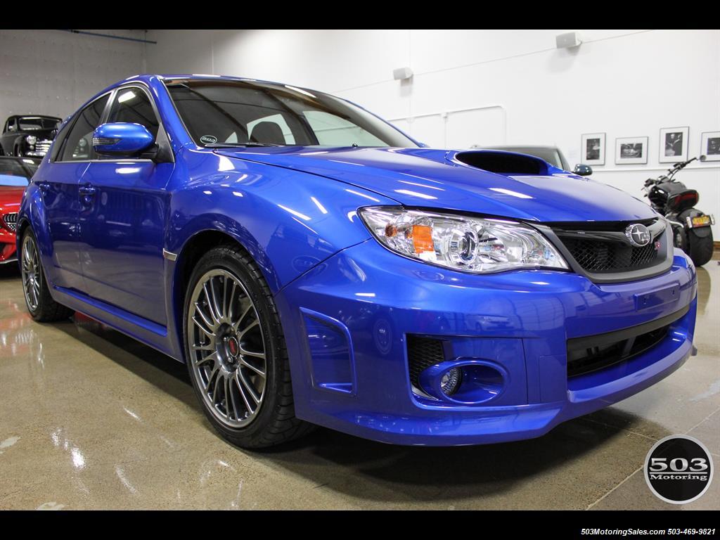 2013 Subaru Impreza Wrx Hatchback >> 2013 Subaru Impreza WRX STI Hatch; WRB w/ Less than 1k Miles!