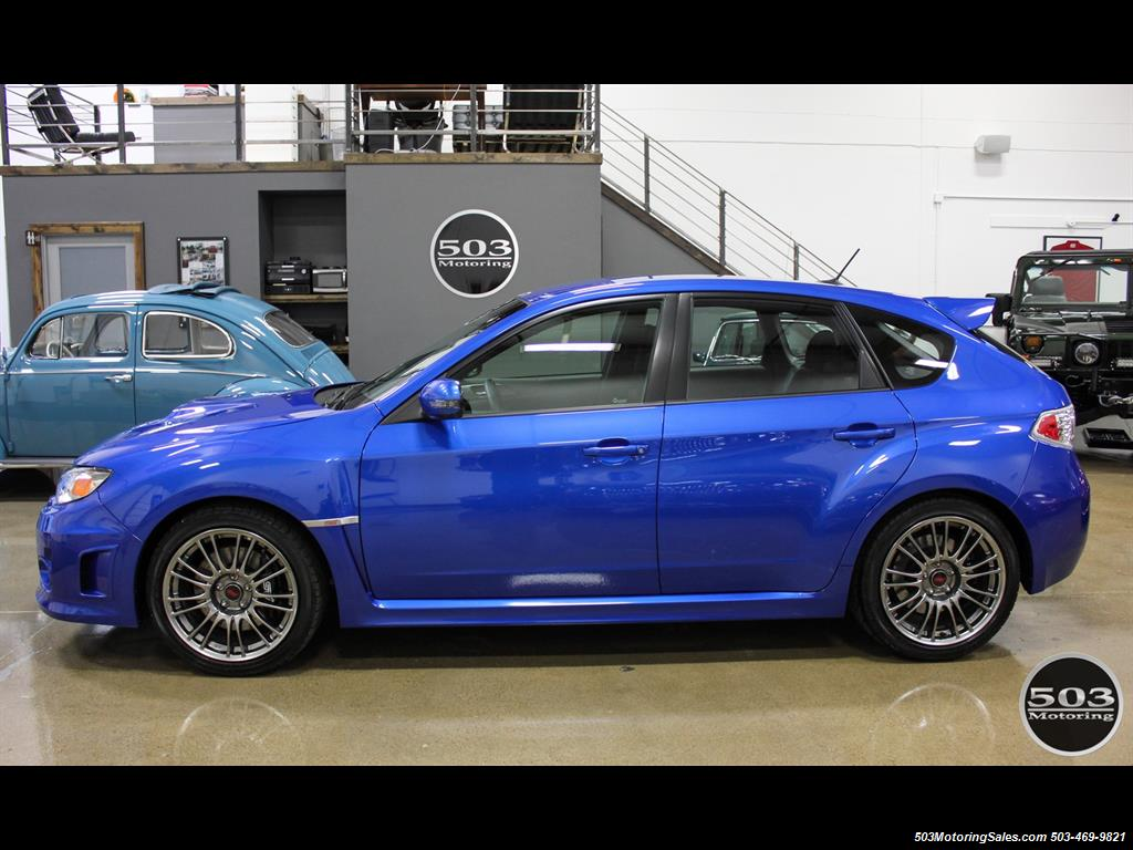 2013 subaru impreza wrx sti hatch wrb w less than 1k miles. Black Bedroom Furniture Sets. Home Design Ideas