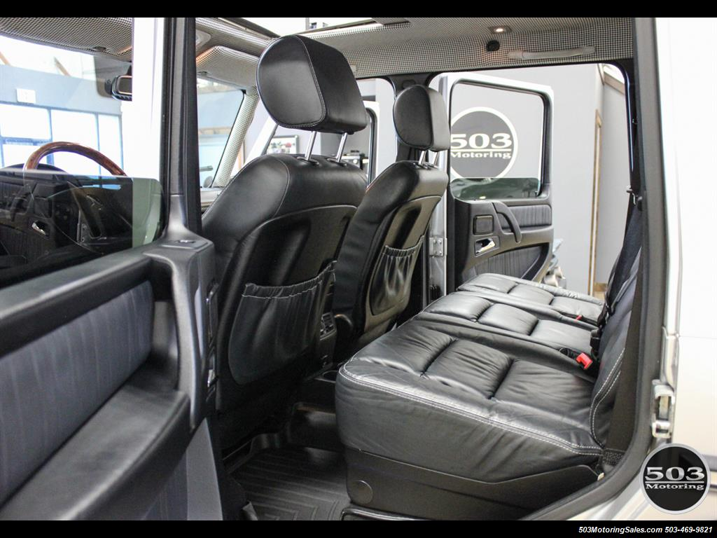 2005 Mercedes-Benz G 55 AMG; Silver/Charcoal w/ Lift & Upgrades! - Photo 44 - Beaverton, OR 97005