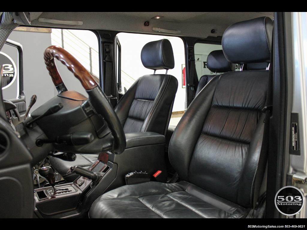 2005 Mercedes-Benz G 55 AMG; Silver/Charcoal w/ Lift & Upgrades! - Photo 31 - Beaverton, OR 97005