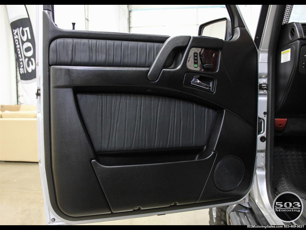 2005 Mercedes-Benz G 55 AMG; Silver/Charcoal w/ Lift & Upgrades! - Photo 39 - Beaverton, OR 97005