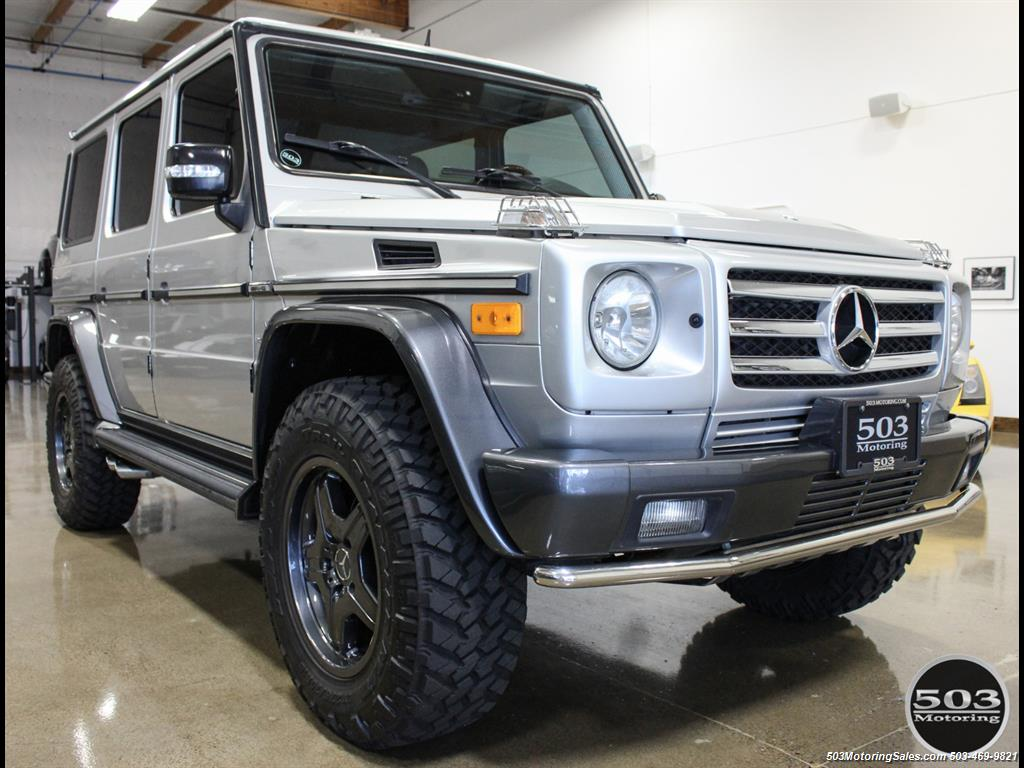 2005 Mercedes-Benz G 55 AMG; Silver/Charcoal w/ Lift & Upgrades! - Photo 7 - Beaverton, OR 97005