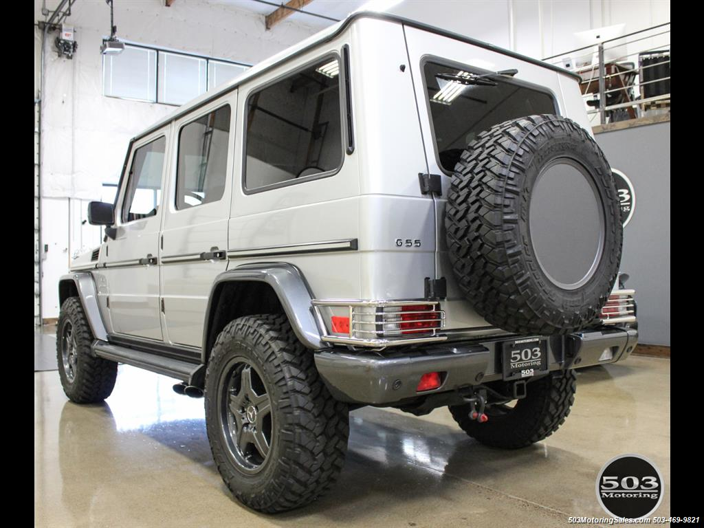 2005 Mercedes-Benz G 55 AMG; Silver/Charcoal w/ Lift & Upgrades! - Photo 3 - Beaverton, OR 97005