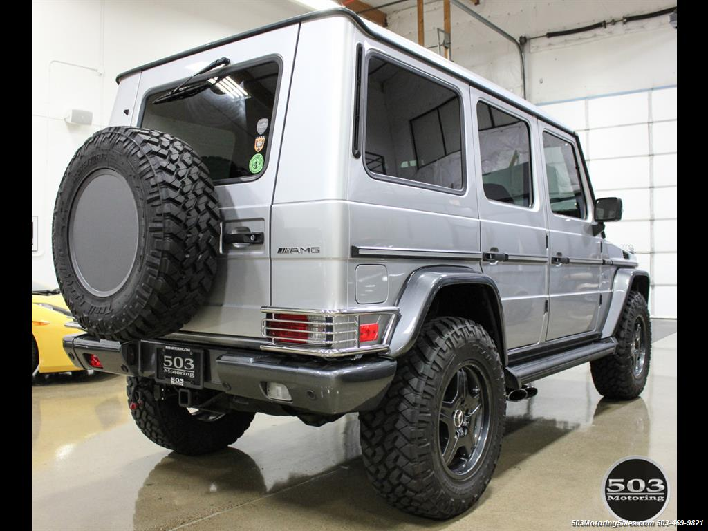 2005 Mercedes-Benz G 55 AMG; Silver/Charcoal w/ Lift & Upgrades! - Photo 5 - Beaverton, OR 97005