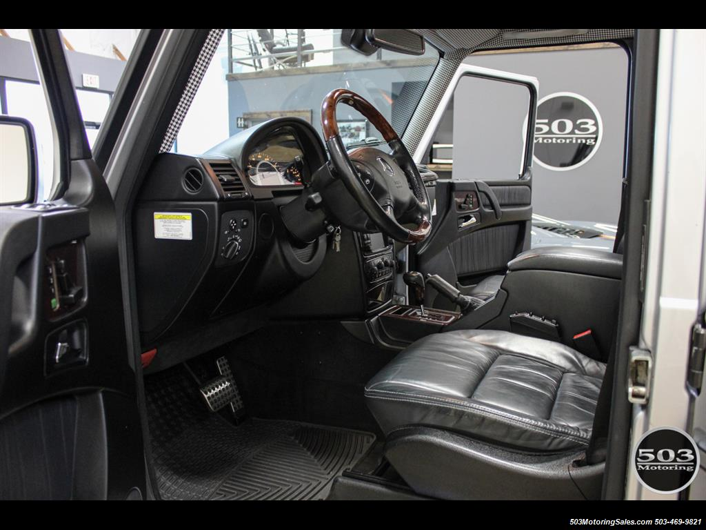 2005 Mercedes-Benz G 55 AMG; Silver/Charcoal w/ Lift & Upgrades! - Photo 28 - Beaverton, OR 97005