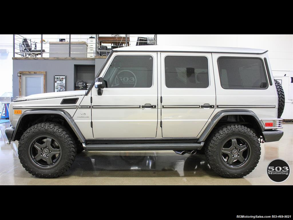 2005 Mercedes-Benz G 55 AMG; Silver/Charcoal w/ Lift & Upgrades! - Photo 2 - Beaverton, OR 97005