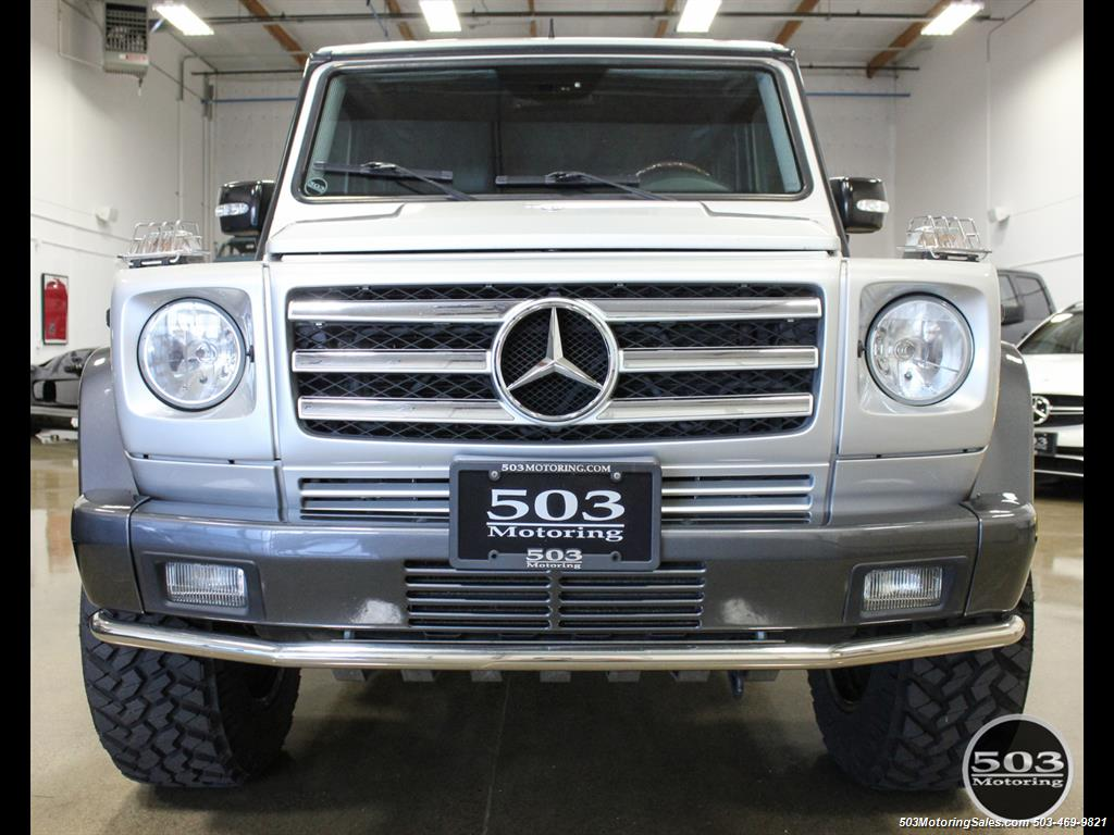 2005 Mercedes-Benz G 55 AMG; Silver/Charcoal w/ Lift & Upgrades! - Photo 8 - Beaverton, OR 97005
