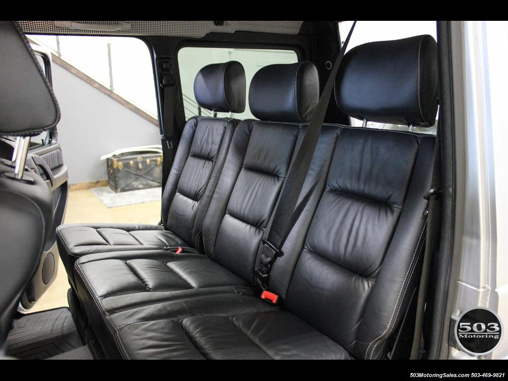2005 Mercedes-Benz G 55 AMG; Silver/Charcoal w/ Lift & Upgrades! - Photo 45 - Beaverton, OR 97005