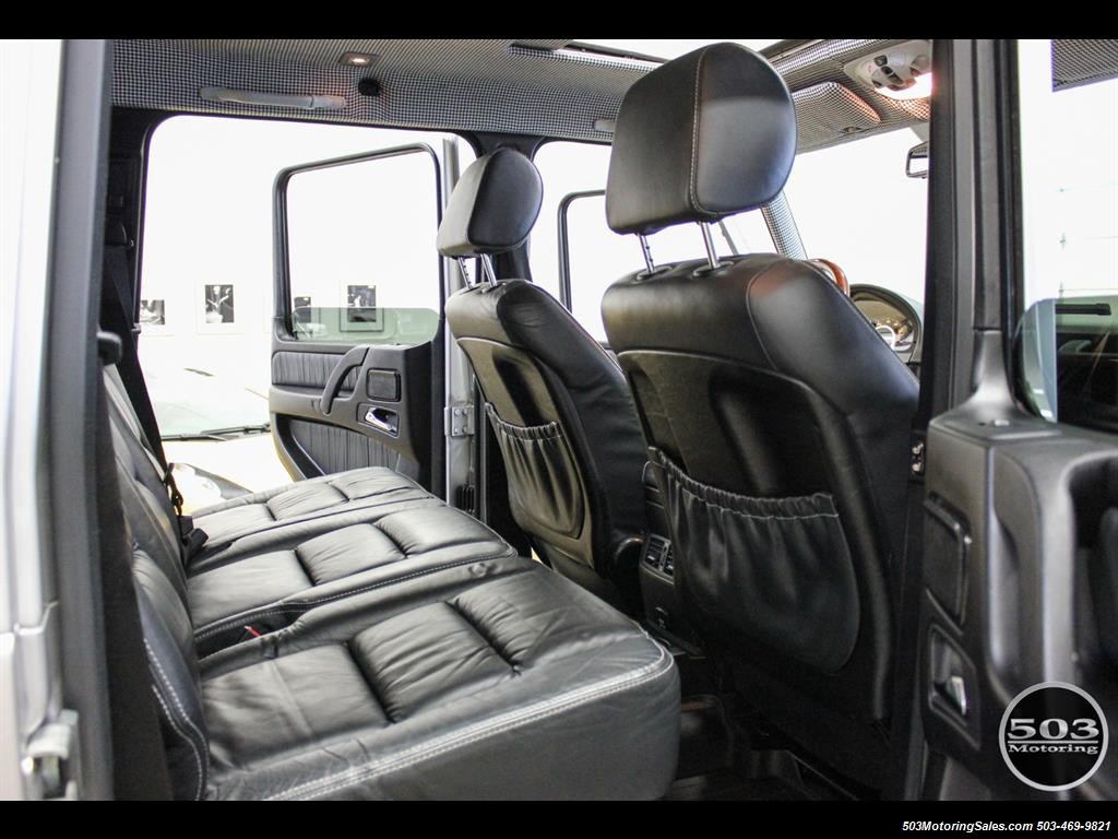2005 Mercedes-Benz G 55 AMG; Silver/Charcoal w/ Lift & Upgrades! - Photo 48 - Beaverton, OR 97005