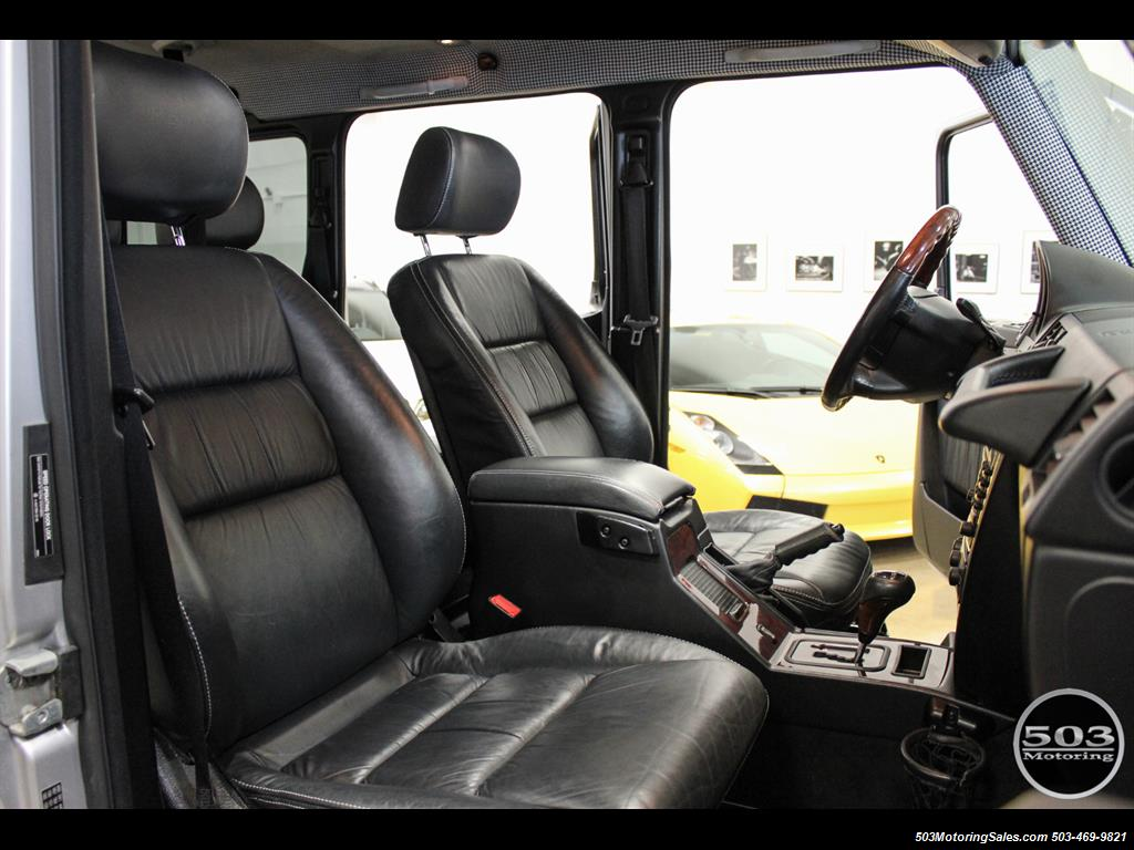 2005 Mercedes-Benz G 55 AMG; Silver/Charcoal w/ Lift & Upgrades! - Photo 42 - Beaverton, OR 97005
