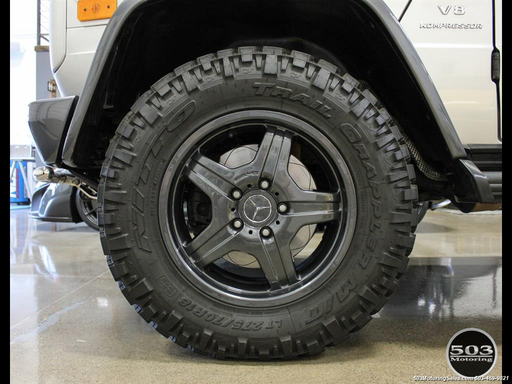 2005 Mercedes-Benz G 55 AMG; Silver/Charcoal w/ Lift & Upgrades! - Photo 24 - Beaverton, OR 97005