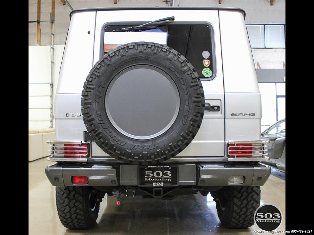 2005 Mercedes-Benz G 55 AMG; Silver/Charcoal w/ Lift & Upgrades! - Photo 4 - Beaverton, OR 97005