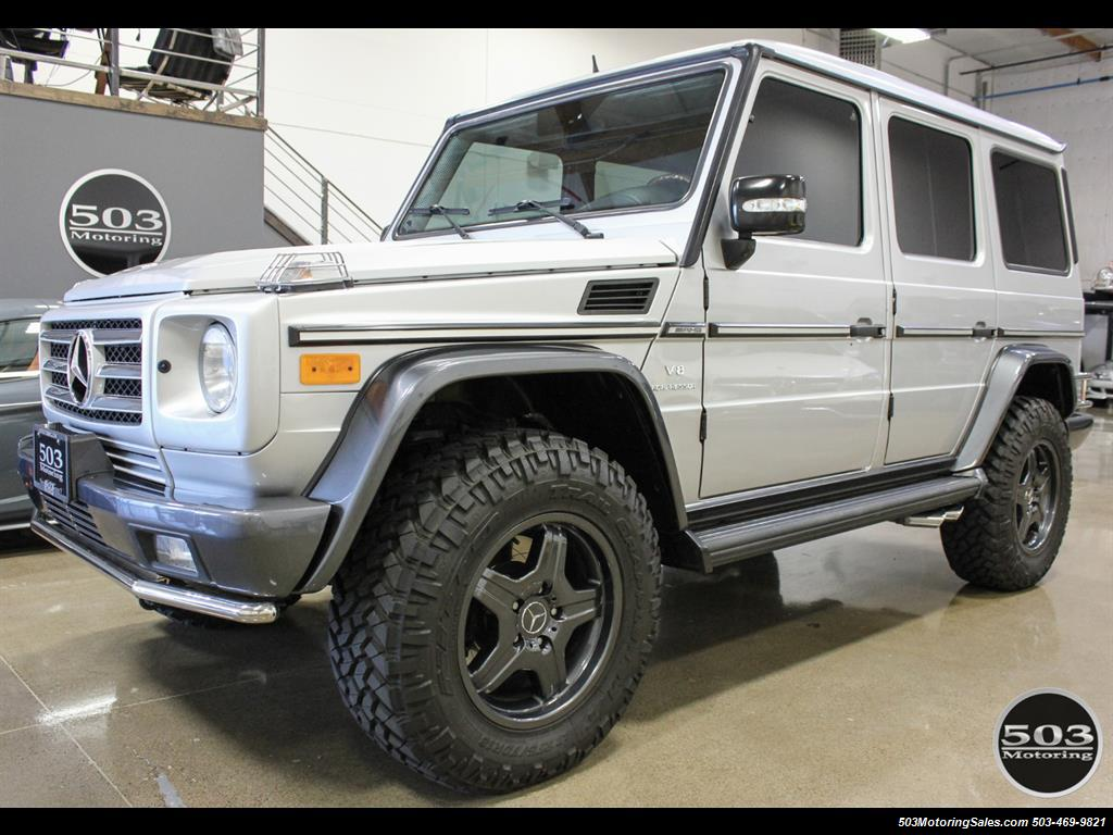 2005 Mercedes-Benz G 55 AMG; Silver/Charcoal w/ Lift & Upgrades! - Photo 1 - Beaverton, OR 97005