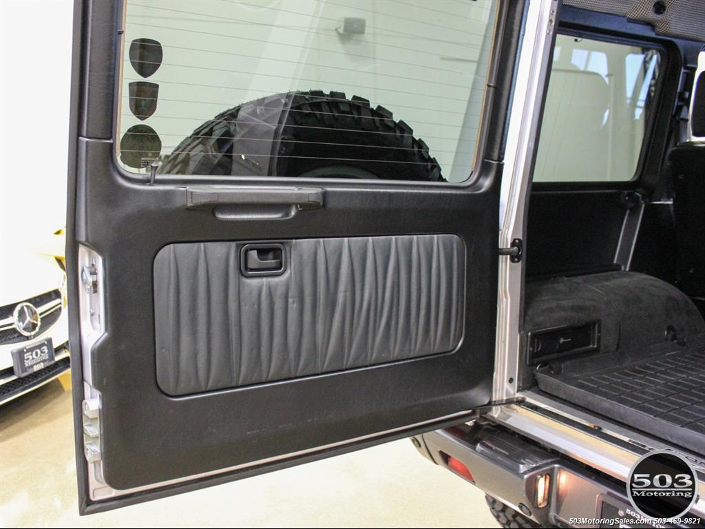 2005 Mercedes-Benz G 55 AMG; Silver/Charcoal w/ Lift & Upgrades! - Photo 52 - Beaverton, OR 97005
