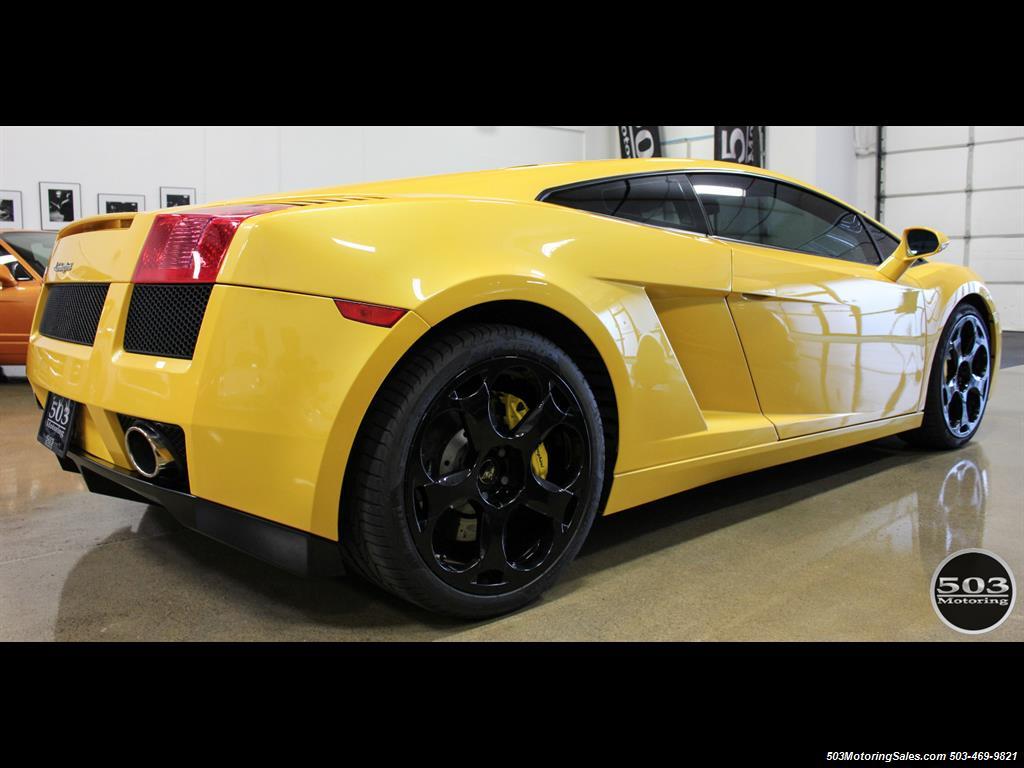 2004 Lamborghini Gallardo Yellow/Black 6-Speed Manual w/ 21k Miles! - Photo 6 - Beaverton, OR 97005