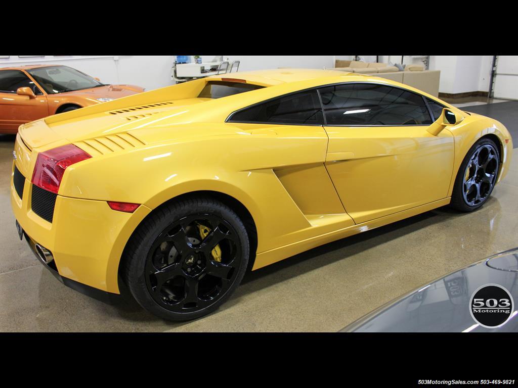 2004 Lamborghini Gallardo Yellow/Black 6-Speed Manual w/ 21k Miles! - Photo 7 - Beaverton, OR 97005