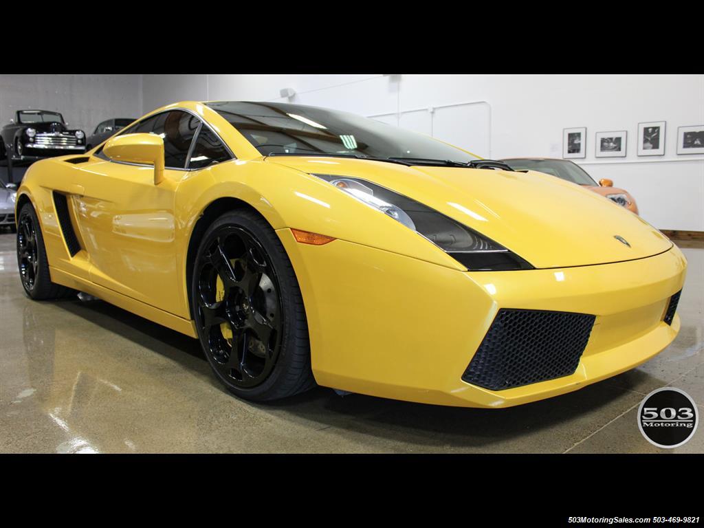 2004 Lamborghini Gallardo Yellow/Black 6-Speed Manual w/ 21k Miles! - Photo 8 - Beaverton, OR 97005