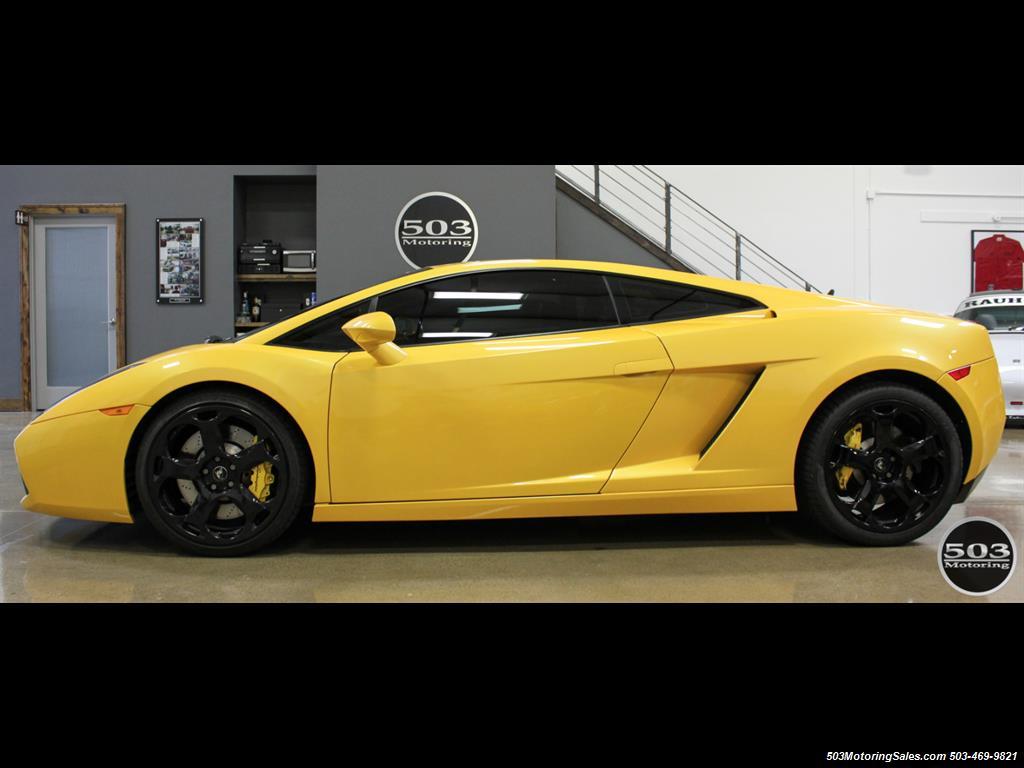 2004 Lamborghini Gallardo Yellow/Black 6-Speed Manual w/ 21k Miles! - Photo 2 - Beaverton, OR 97005