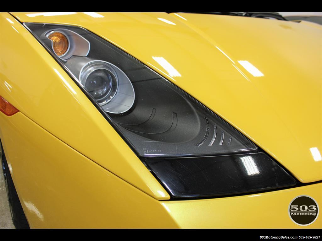 2004 Lamborghini Gallardo Yellow/Black 6-Speed Manual w/ 21k Miles! - Photo 11 - Beaverton, OR 97005