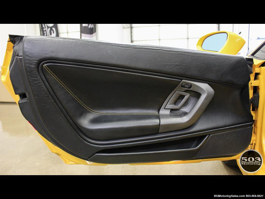 2004 Lamborghini Gallardo Yellow/Black 6-Speed Manual w/ 21k Miles! - Photo 36 - Beaverton, OR 97005