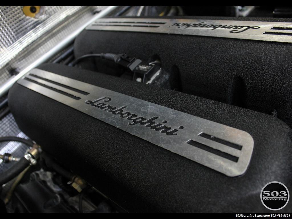 2004 Lamborghini Gallardo Yellow/Black 6-Speed Manual w/ 21k Miles! - Photo 47 - Beaverton, OR 97005