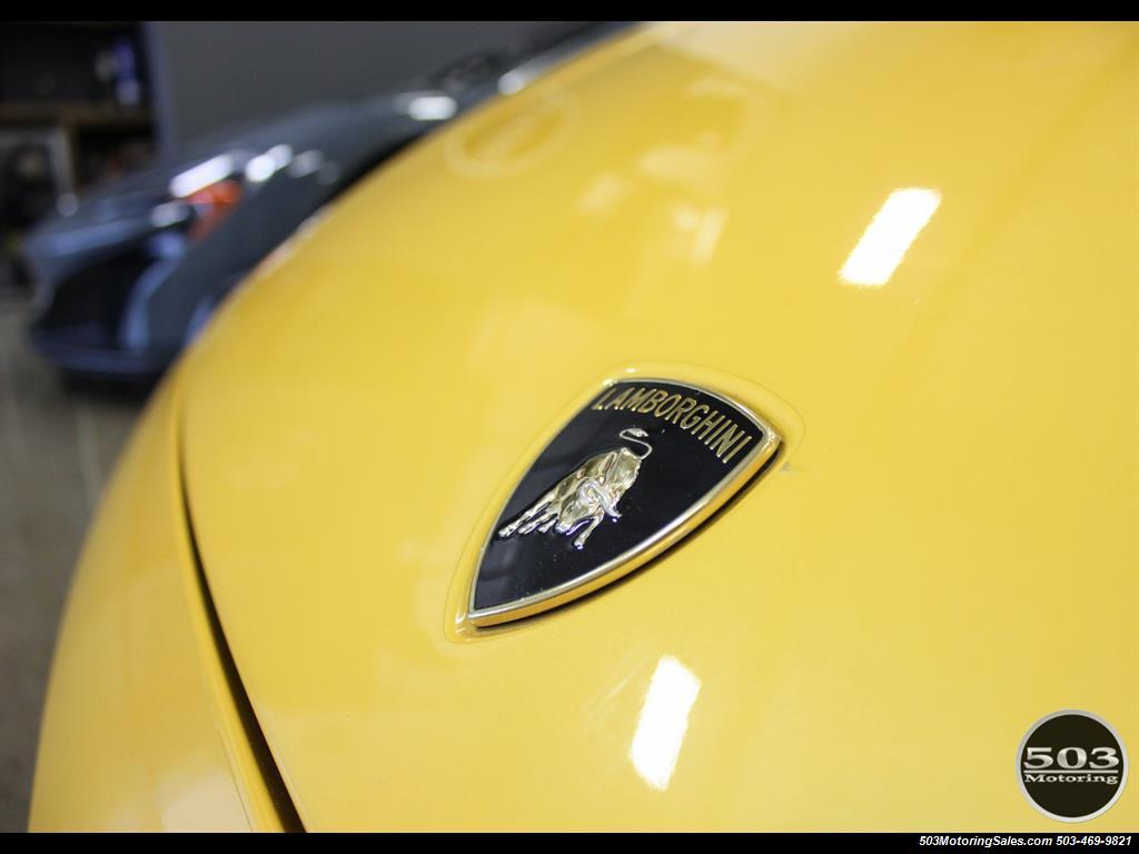 2004 Lamborghini Gallardo Yellow/Black 6-Speed Manual w/ 21k Miles! - Photo 10 - Beaverton, OR 97005