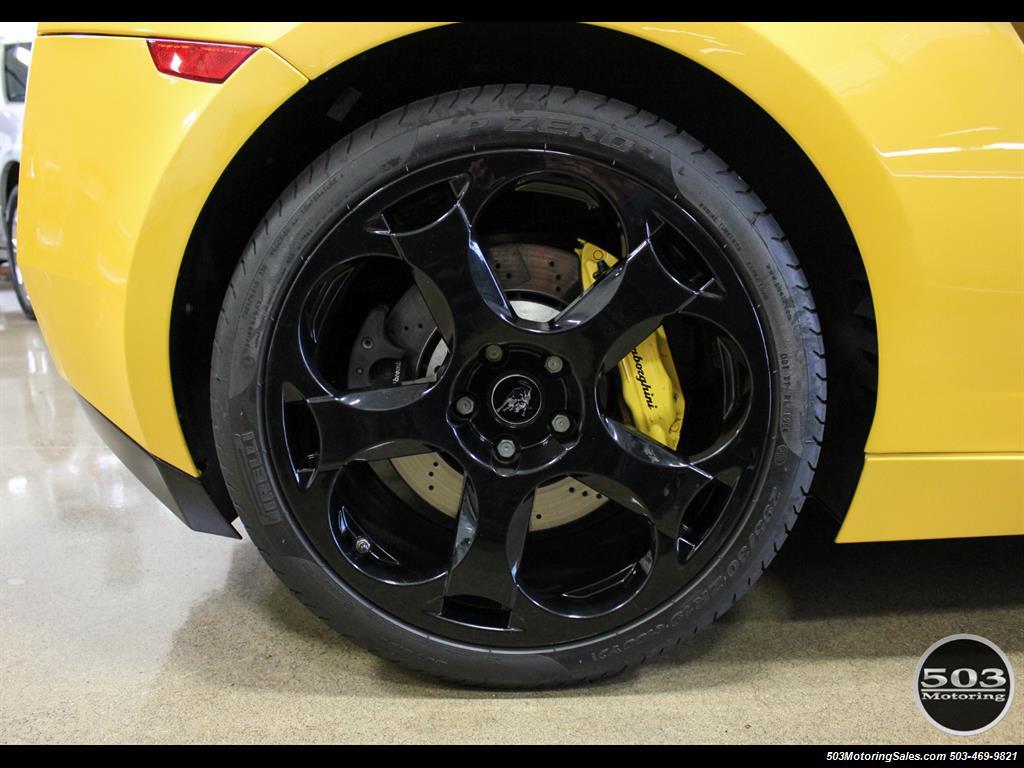 2004 Lamborghini Gallardo Yellow/Black 6-Speed Manual w/ 21k Miles! - Photo 24 - Beaverton, OR 97005