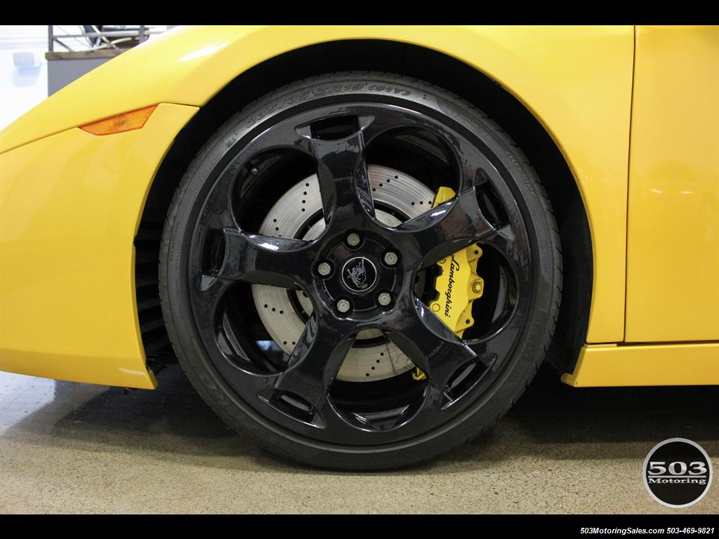 2004 Lamborghini Gallardo Yellow/Black 6-Speed Manual w/ 21k Miles! - Photo 22 - Beaverton, OR 97005