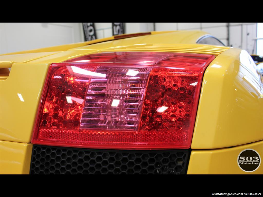 2004 Lamborghini Gallardo Yellow/Black 6-Speed Manual w/ 21k Miles! - Photo 18 - Beaverton, OR 97005