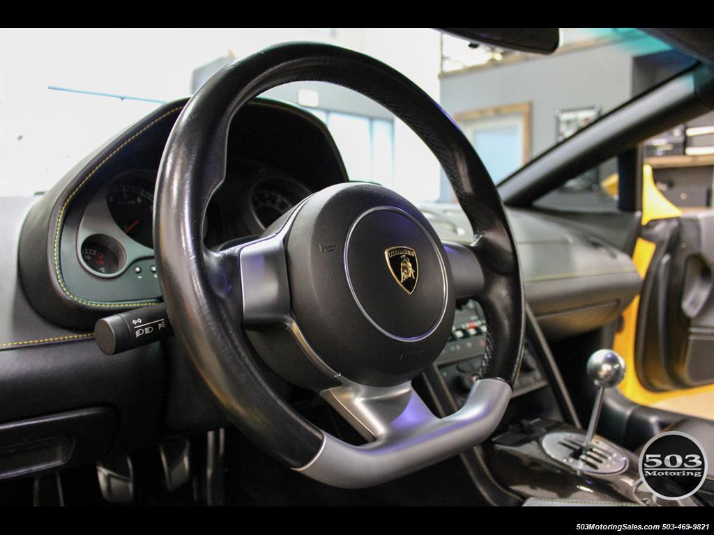 2004 Lamborghini Gallardo Yellow/Black 6-Speed Manual w/ 21k Miles! - Photo 27 - Beaverton, OR 97005
