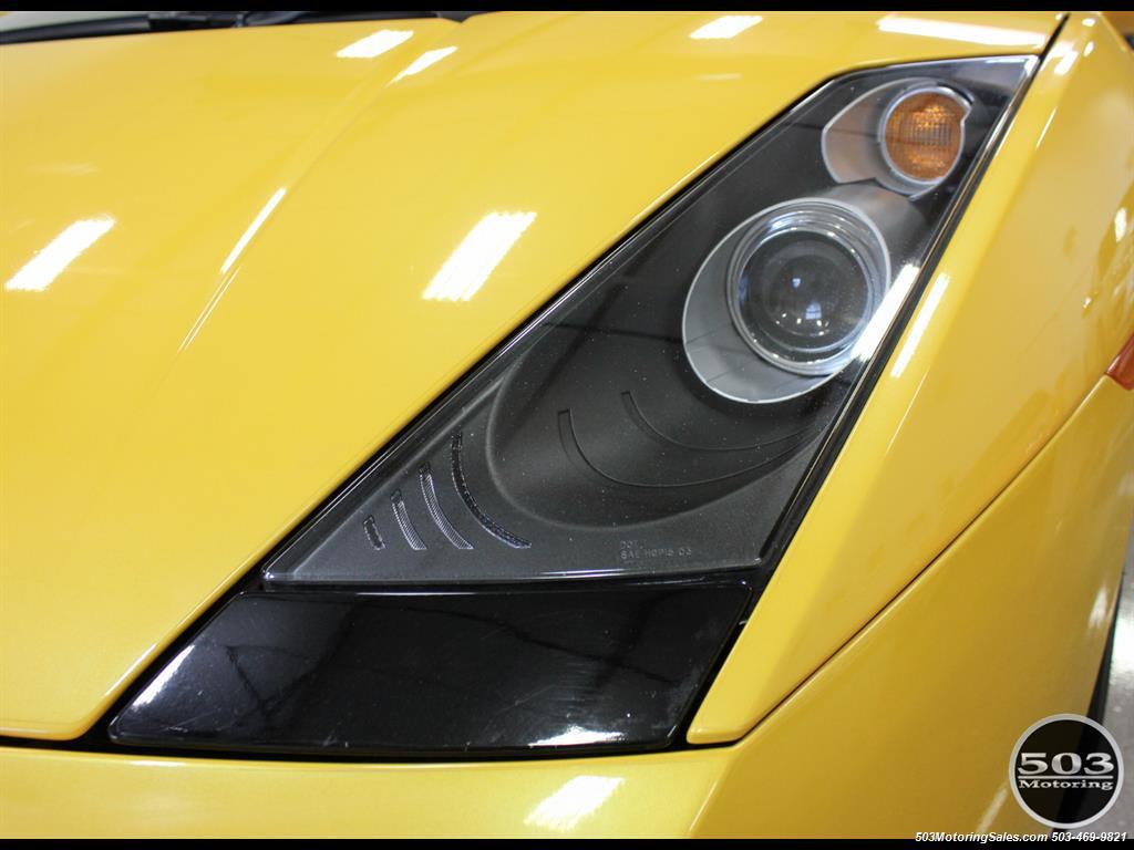 2004 Lamborghini Gallardo Yellow/Black 6-Speed Manual w/ 21k Miles! - Photo 12 - Beaverton, OR 97005